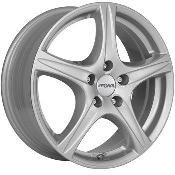 RONAL R56 6.5x16, 5x108 ET50, Stříbrná